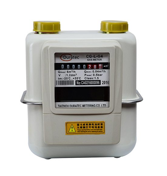 IC card prepayment gas meter